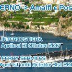 Nuovi orari linea costiera da Salerno per Amalfi e Positano a/r